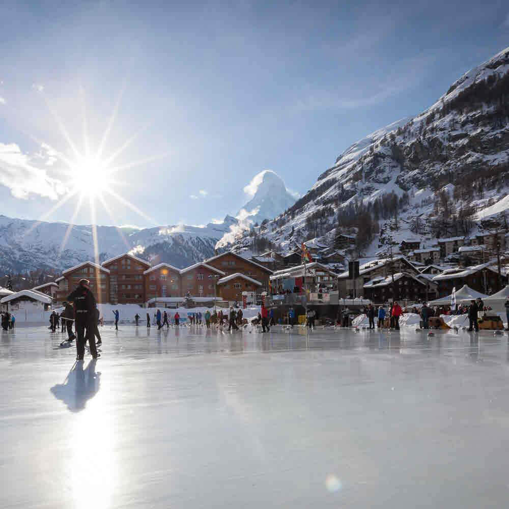 Eisbahnen Zermatt
