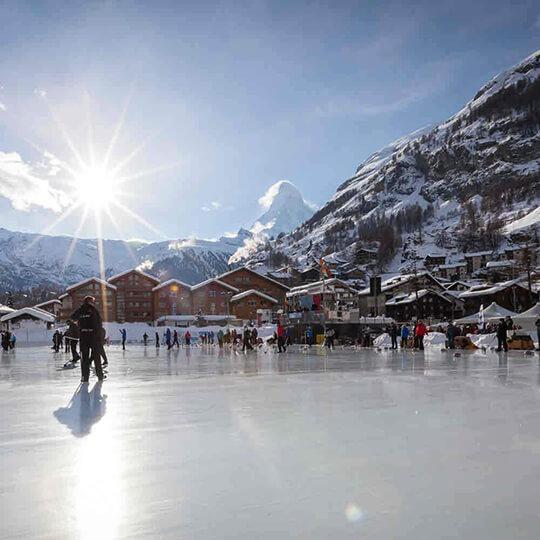 Vorschaubild zu Eisbahnen Zermatt