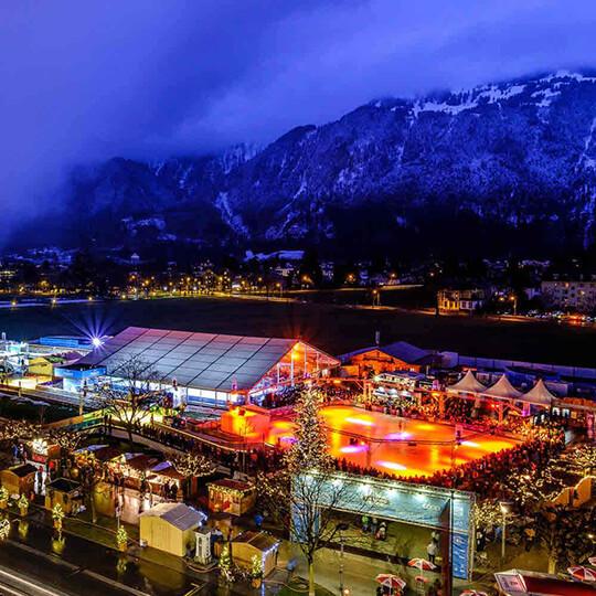 Vorschaubild zu Eisbahn «ICE MAGIC» Interlaken