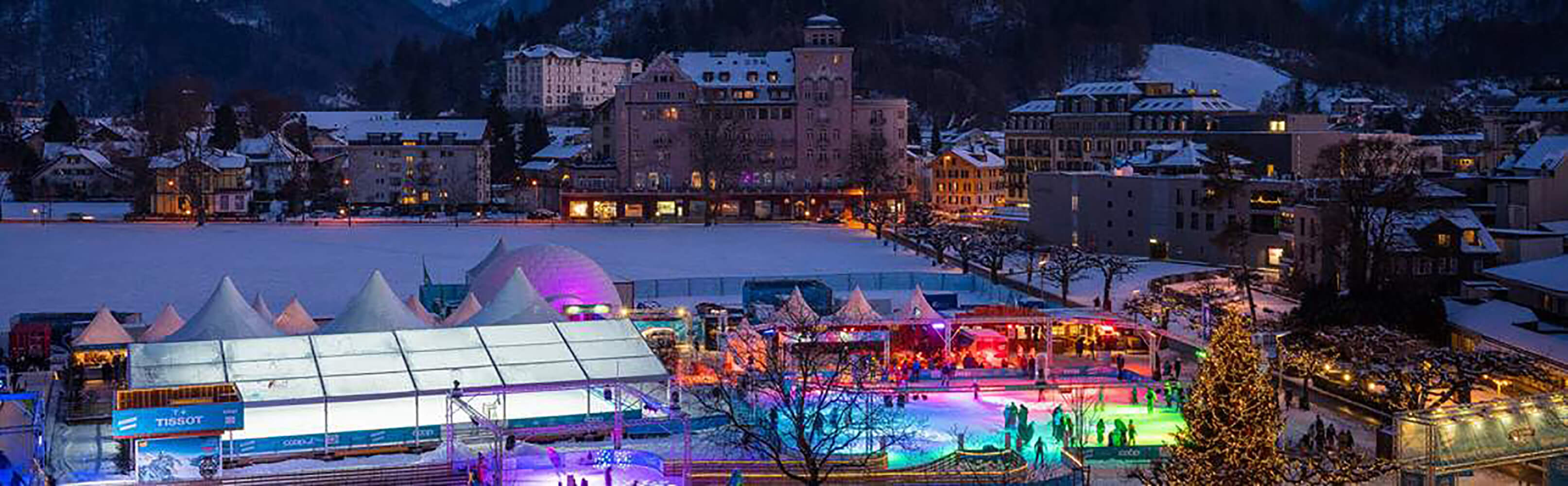 Eisbahn «ICE MAGIC» Interlaken 1
