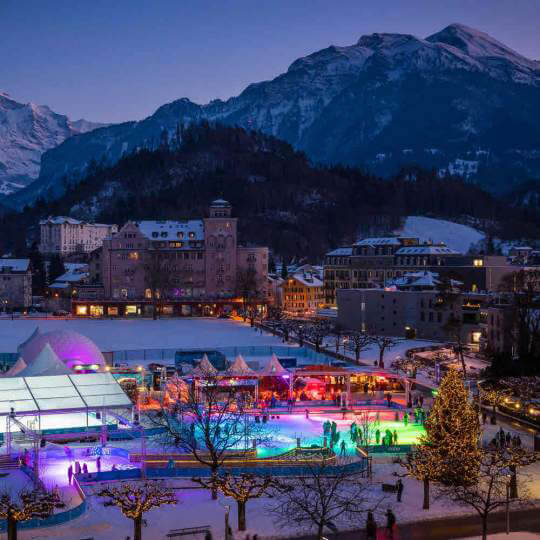 Eisbahn «ICE MAGIC» Interlaken 10