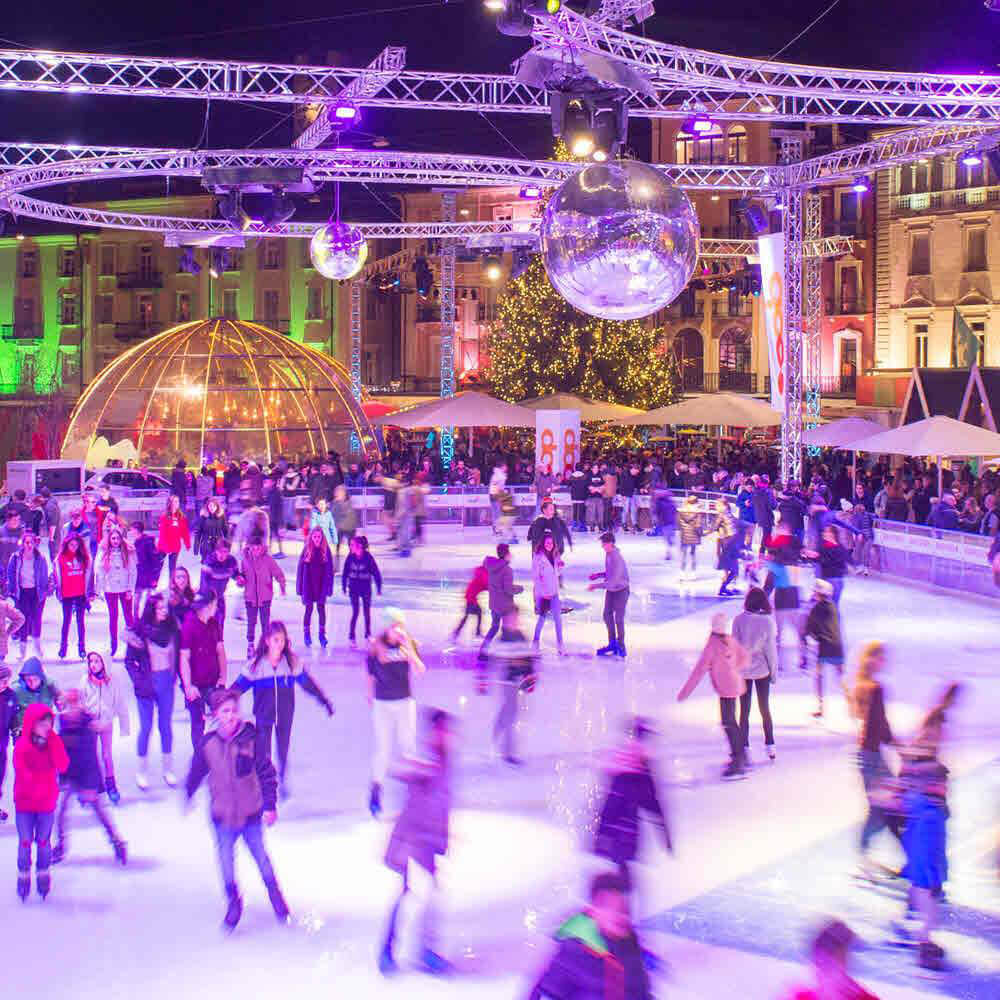 Eisbahn Locarno on Ice