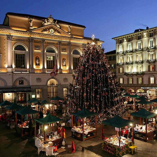 Vorschaubild zu Weihnachtsmarkt Lugano - Natale in Piazza