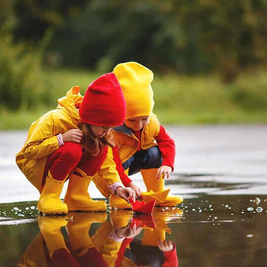 Vorschaubild zu Schlechtwetterprogramm mit Kindern