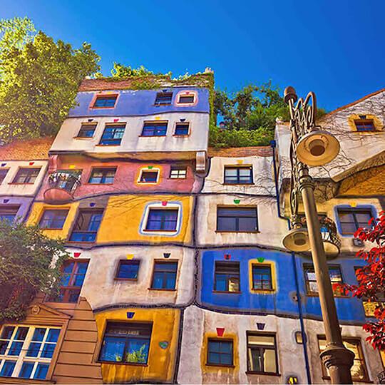 Vorschaubild zu Hundertwasserhaus Wien