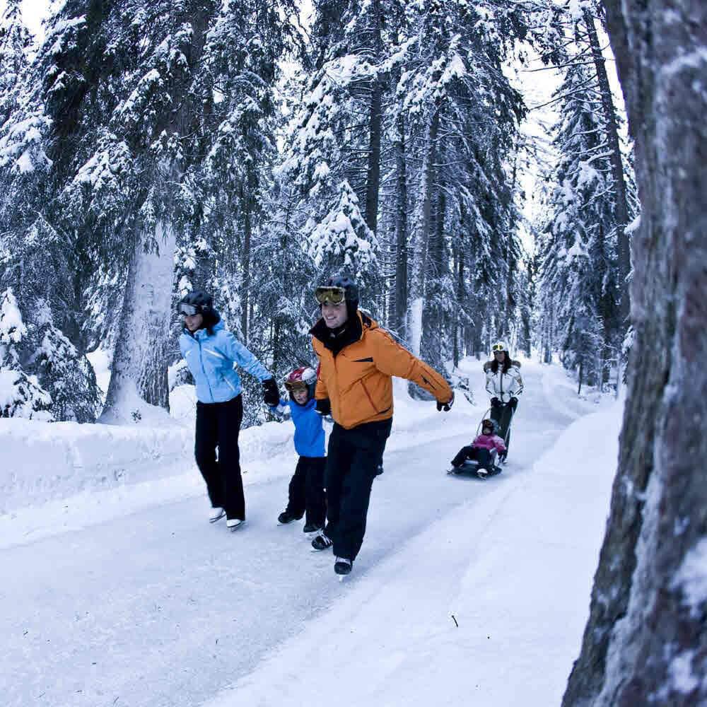 Natureisbahn - Skateline Albula Surava