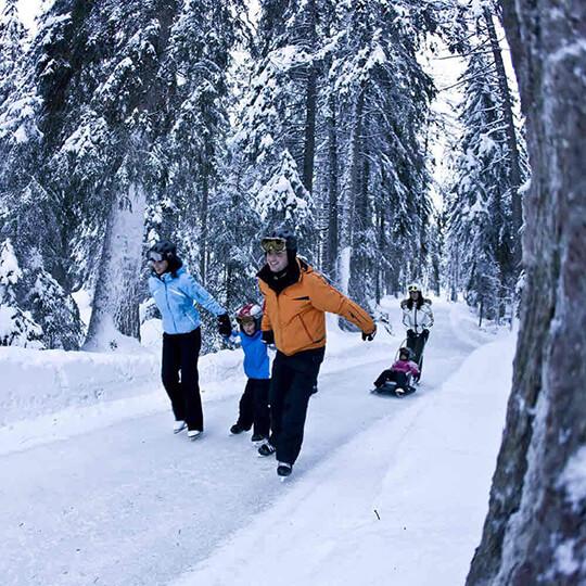 Vorschaubild zu Natureisbahn - Skateline Albula Surava