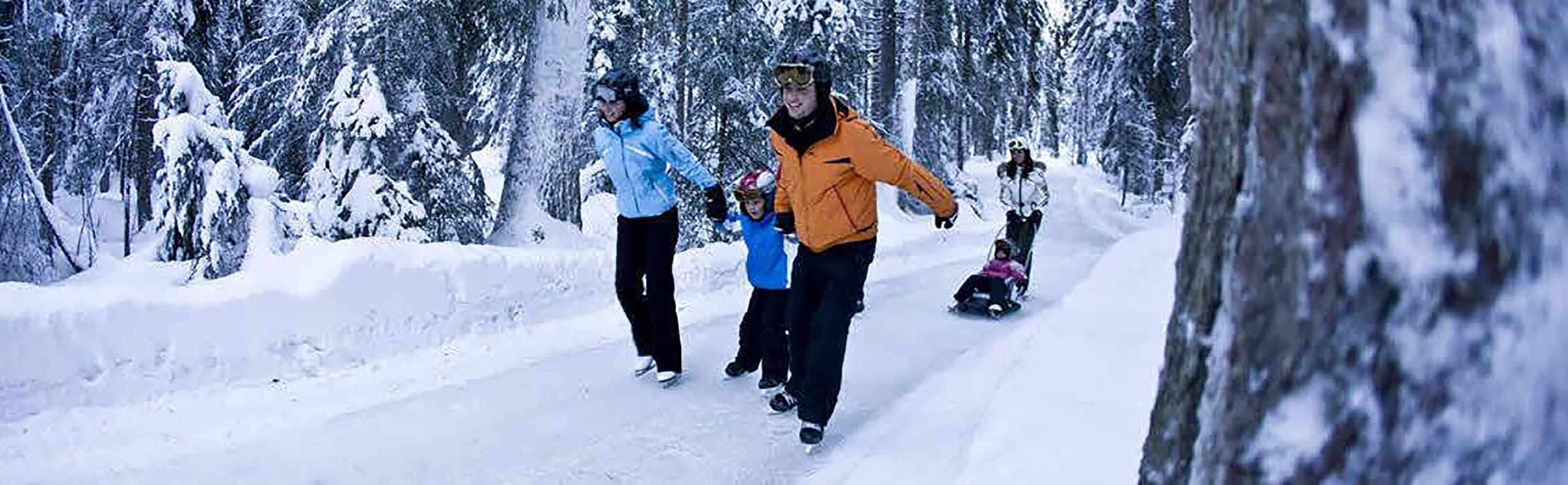 Natureisbahn - Skateline Albula Surava 1