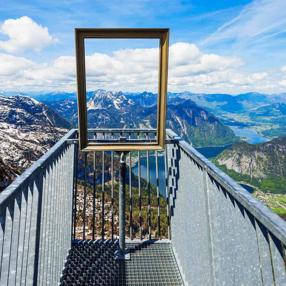 5 Fingers Aussichtsplattform am Krippenstein Obertraun