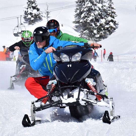 Vorschaubild zu snowXpark (rent a snowmobil) Engelberg
