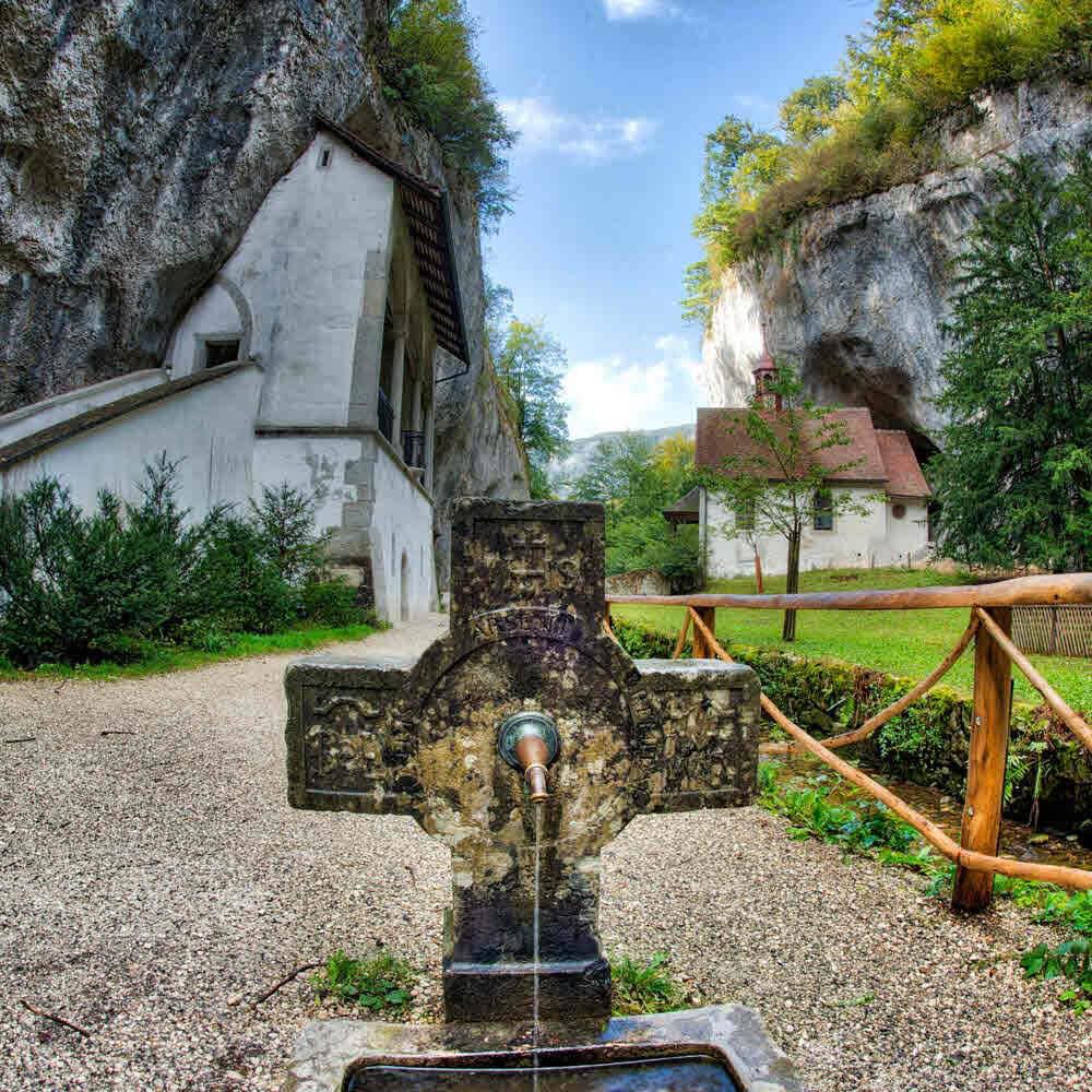 Vorschaubild zu Verenaschlucht und die Einsiedelei  bei Solothurn