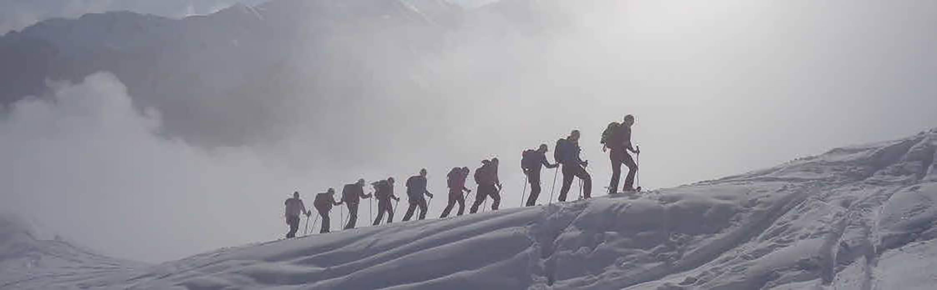 Schneeschuhwandern im Tal des Lichts 1