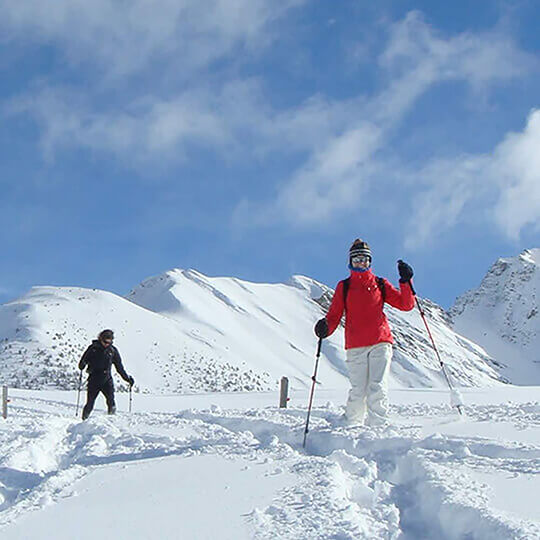 Vorschaubild zu Sonne und Schnee / Schneeschuhwandern im Tal des Lichts