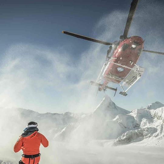 Vorschaubild zu Heliskiing in Zermatt