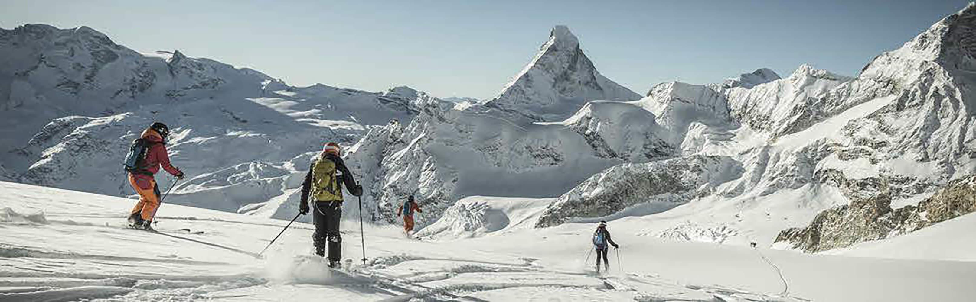 Heliskiing in Zermatt 1