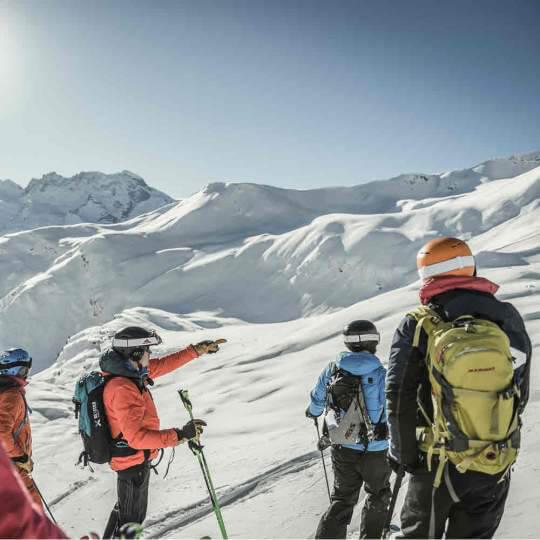 Heliskiing in Zermatt 10