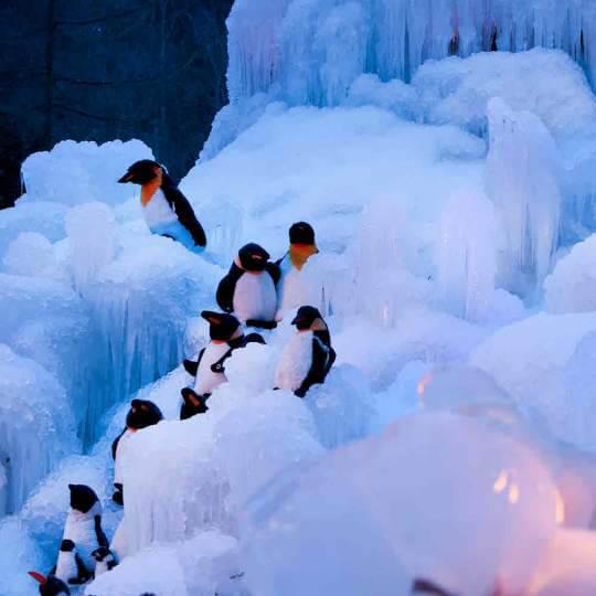 Eispaläste Schwarzsee Senseland 10