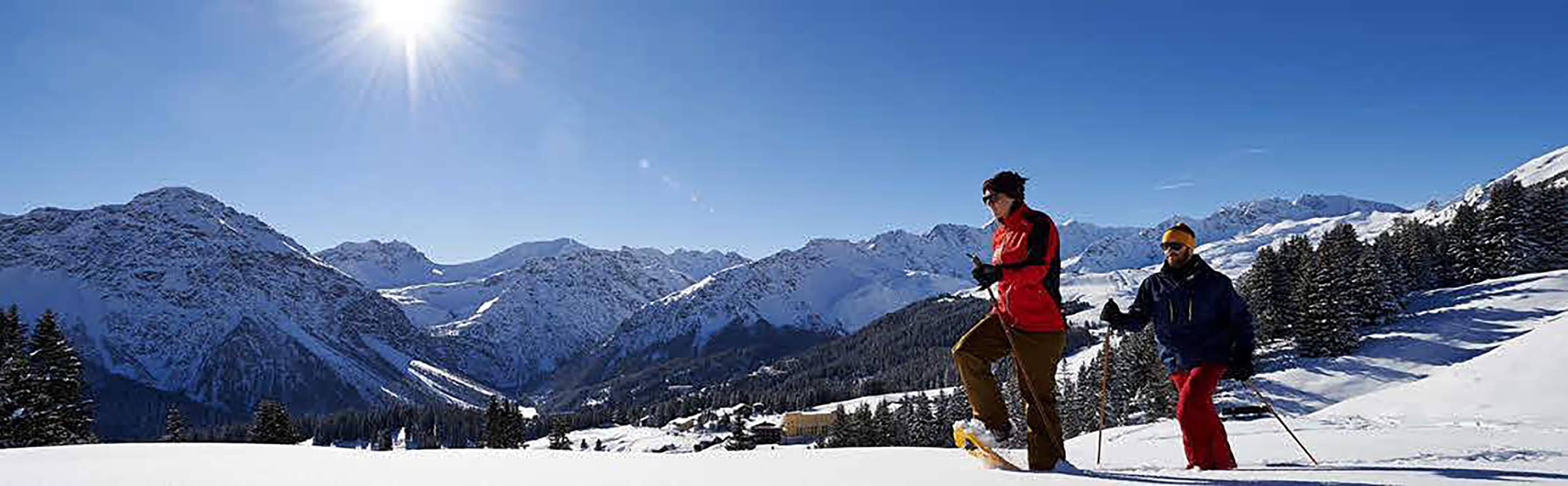 Arosa Schneeschuhtouren  1
