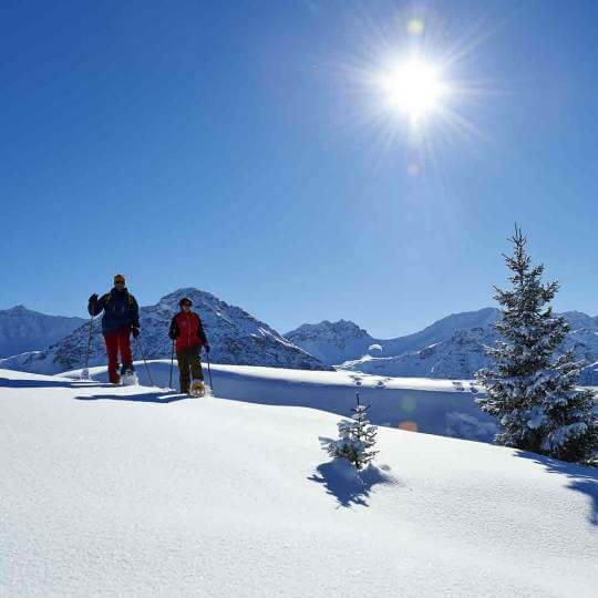 Arosa Schneeschuhtouren  10