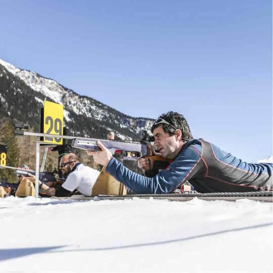 Vorschaubild zu Biathlon Arena Lenzerheide Schnupperkurse