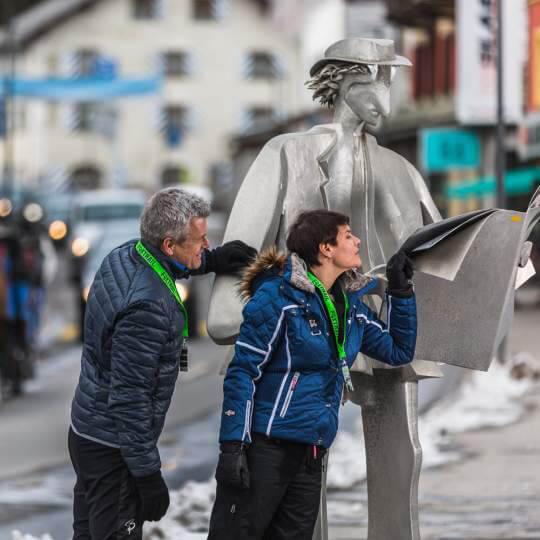 Schnitzeljagd Lenzerheide - Winter 10