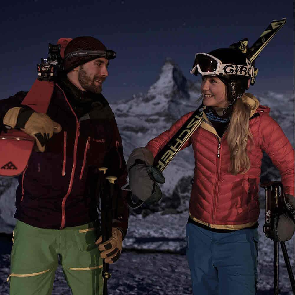 Vorschaubild zu Mondscheinabfahrt Rothorn Zermatt