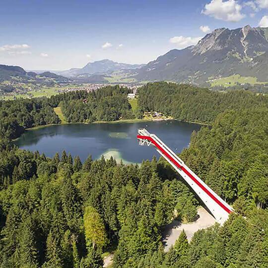 Vorschaubild zu Heini-Klopfer-Skiflugschanze Oberstdorf