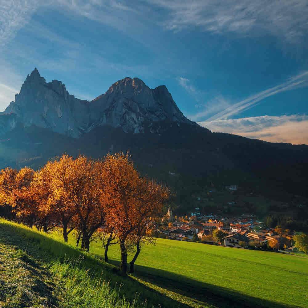 Kastelruth Südtirol mit seinen Kastelruther Spatzen