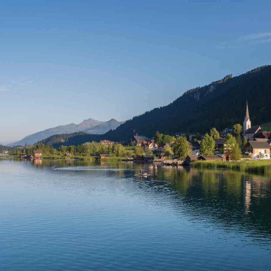 Vorschaubild zu Naturpark Weissensee Kärnten