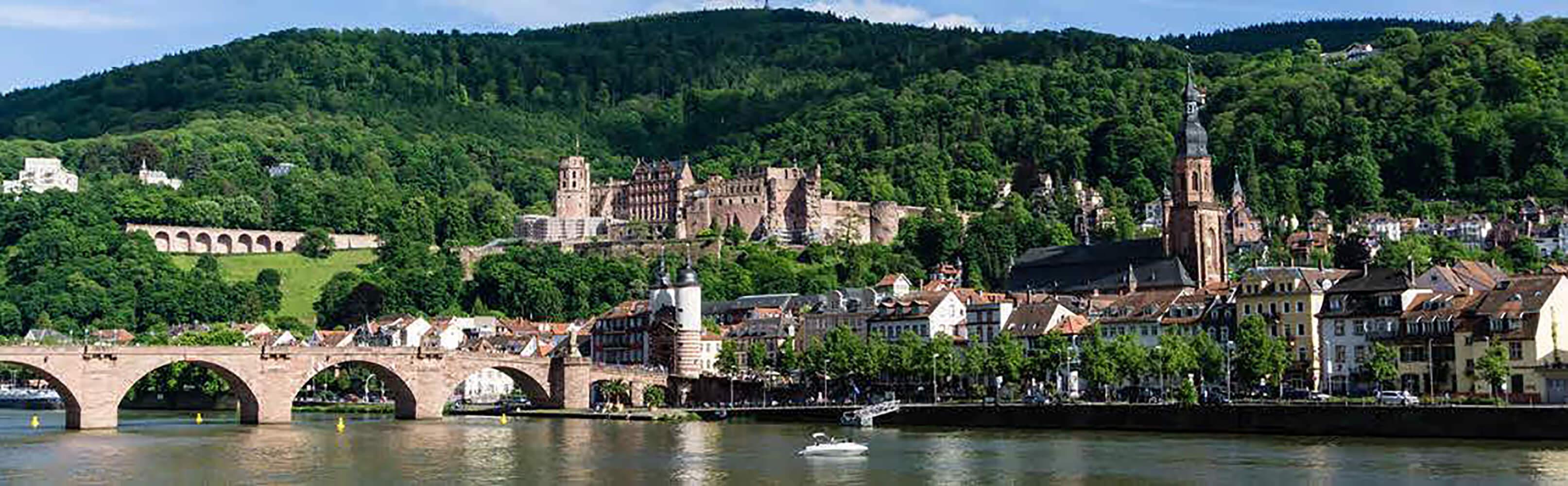 Heidelberg und Schloss Heidelberg 1