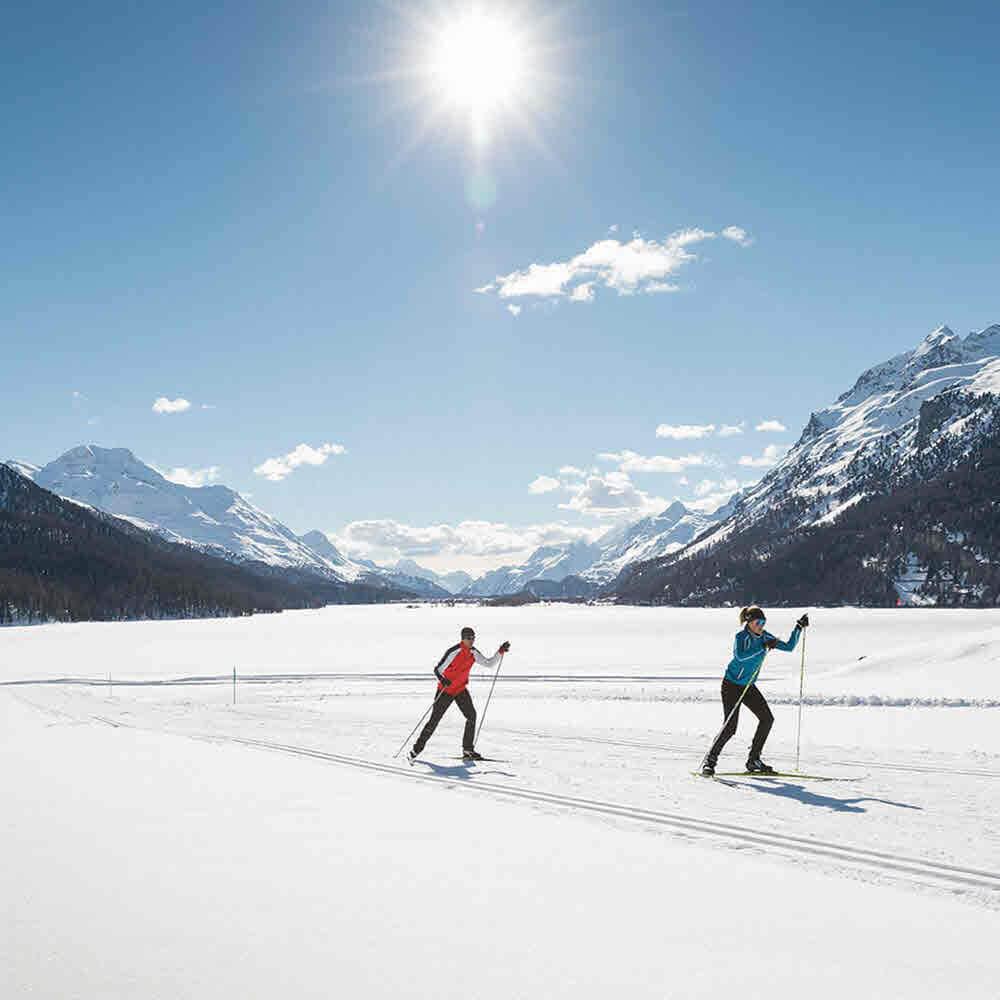 Engadin St. Moritz - Langlauf auf 230 Kilometern