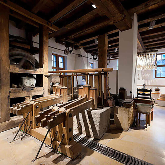 Vorschaubild zu Basler Papiermühle - das Museum zum Mitmachen und Anfassen