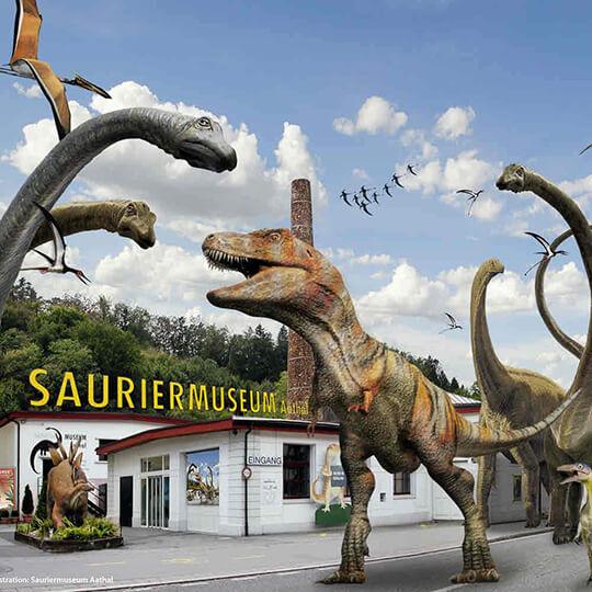 Vorschaubild zu Sauriermuseum Aathal