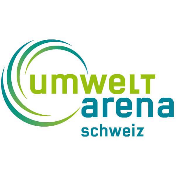 Logo zu Umwelt Arena Schweiz