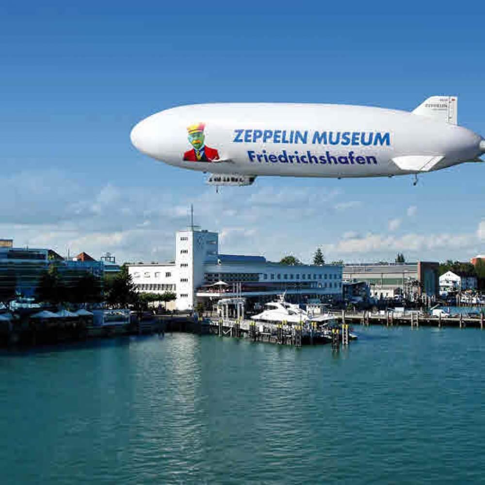 Zeppelin Museum - Technik und Kunst