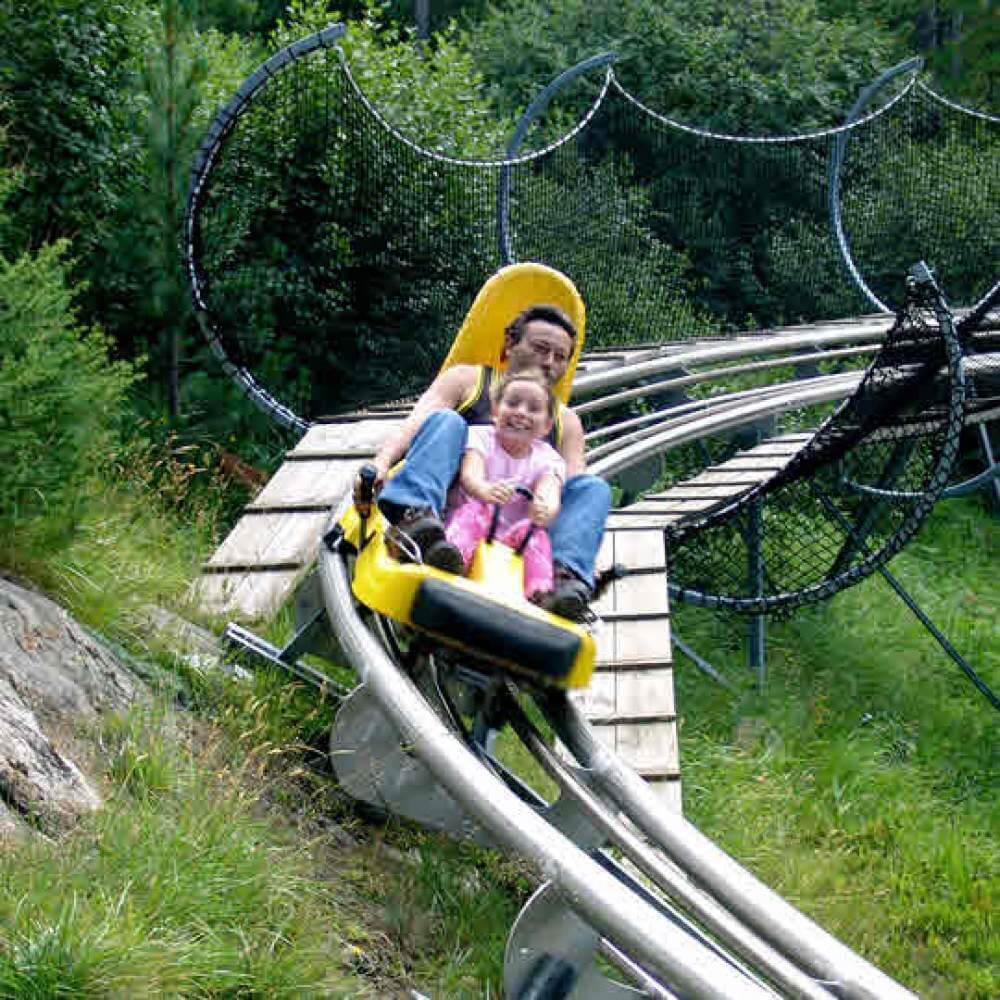 Rodelbobbahn Feeblitz Saas-Fee