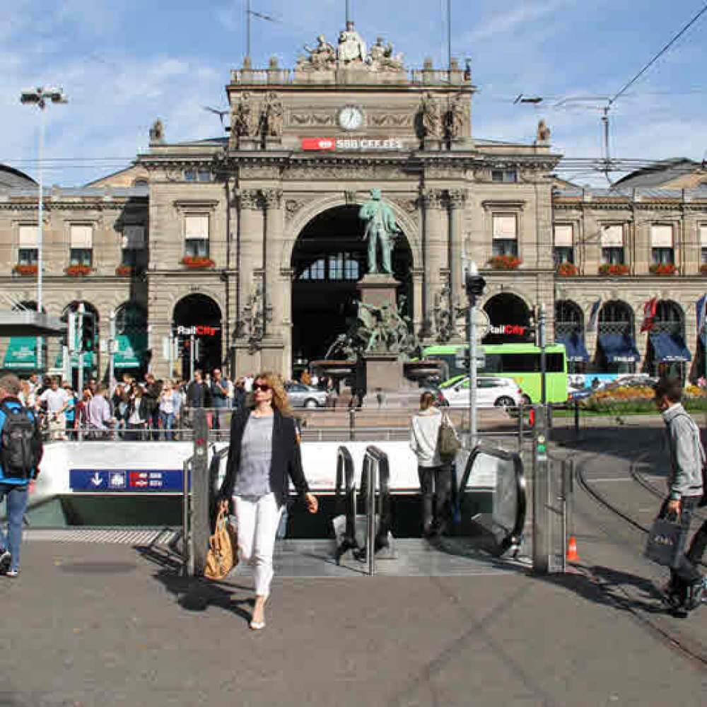 Zürcher Bahnhofstrasse