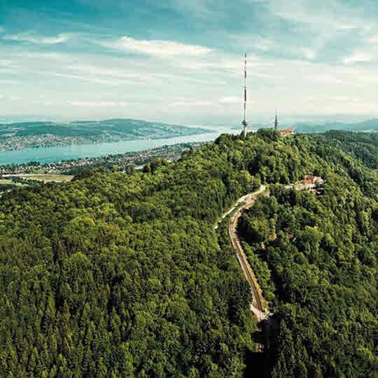 Vorschaubild zu Uetliberg - Naturparadies mitten in der Stadt Zürich
