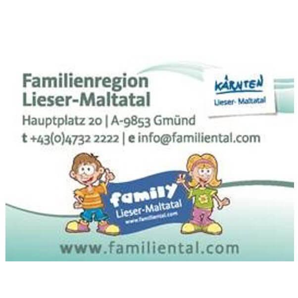 Logo zu Lieser- und Maltatal in Kärnten - das Familiental