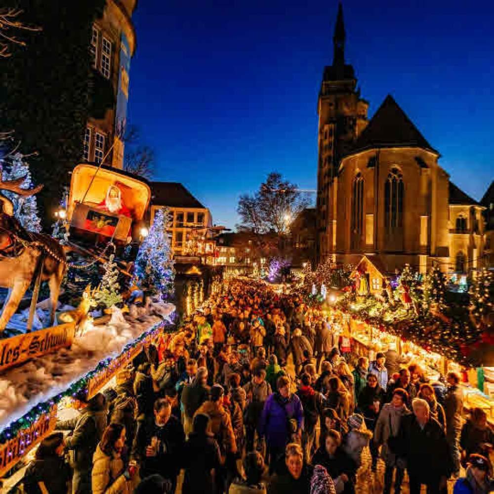 Stuttgart Weihnachtsmarkt.Stuttgarter Weihnachtsmarkt