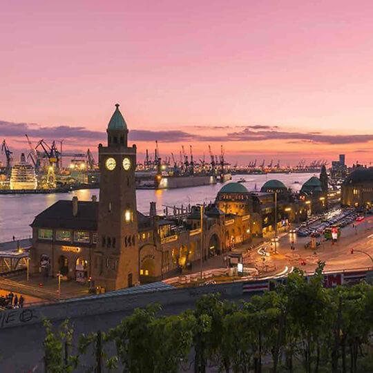 Vorschaubild zu Hamburger Hafen