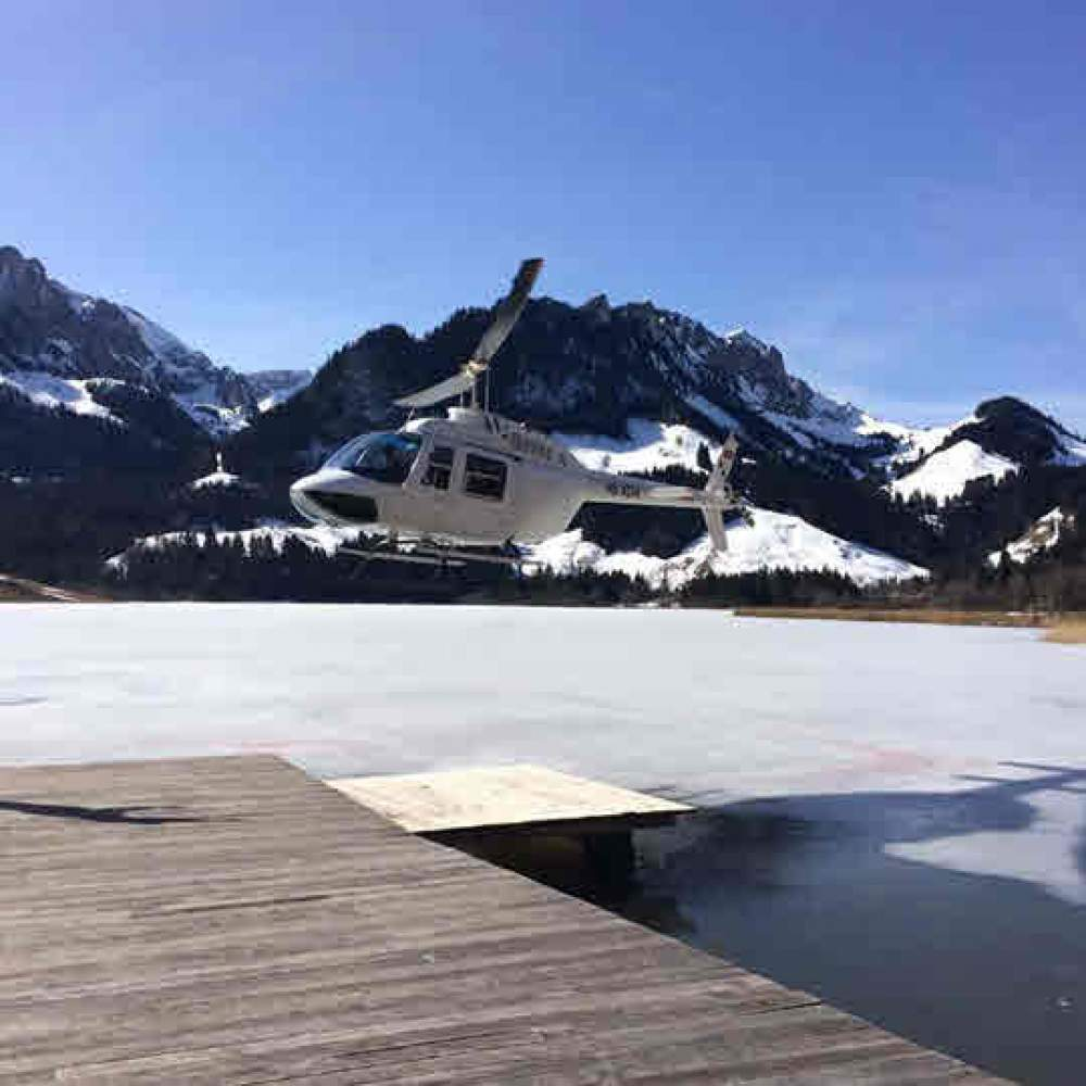 Helikopterflug Aerodrome Ecuvillens