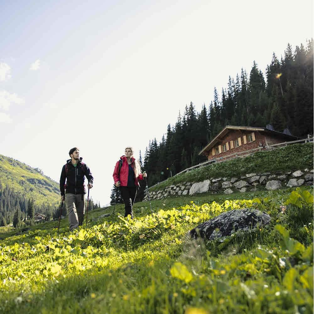 St. Anton am Arlberg - den Sommer spüren
