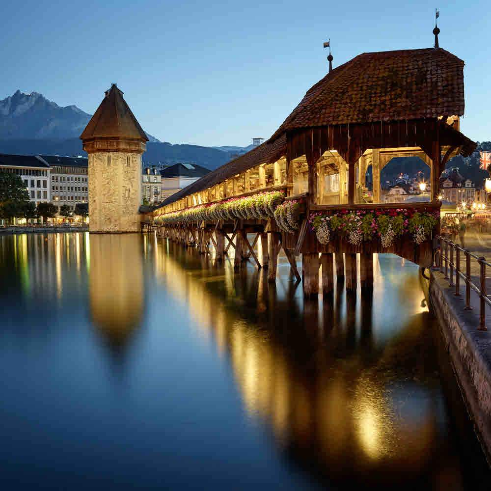 Luzern - Die Stadt. Der See. Die Berge.