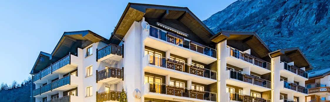 Hotel Kristall-Saphir***Superior, Saas-Almagell 1