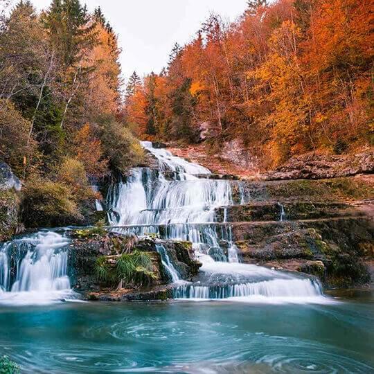 Vorschaubild zu Wasserfälle und Kaskaden
