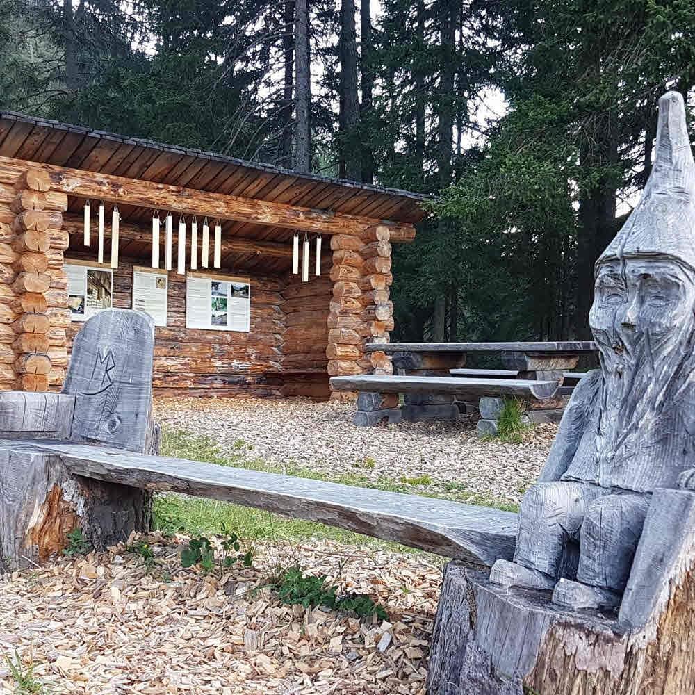 Bergüner Holzweg - Parc Ela