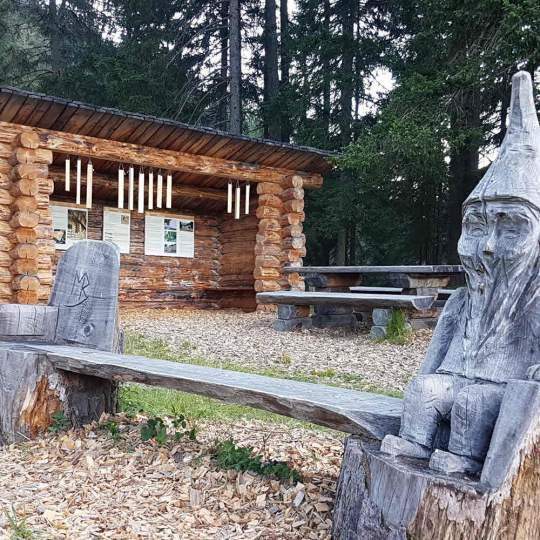 Bergüner Holzweg - Parc Ela 10