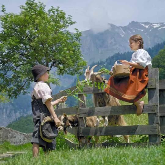 Vorschaubild zu Heidiweg und Heididorf bei Maienfeld