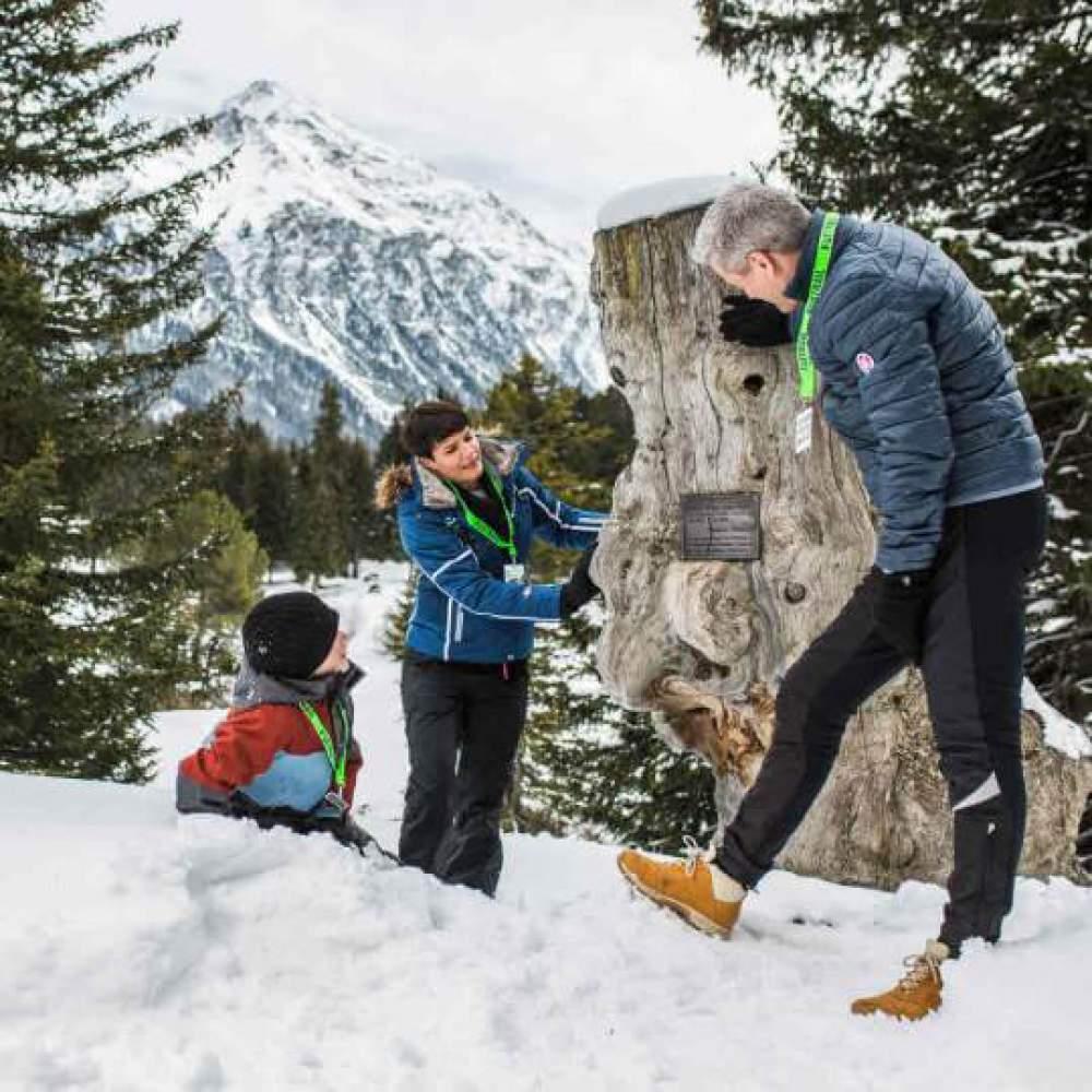 Schnitzeljagd Lenzerheide - Winter